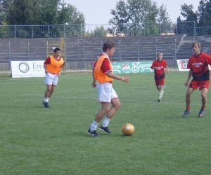 Bicske - Zágráb labdarúgó mérkőzés
