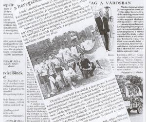 U k r a jn a, Beregi Hírlap c. újságban 2010.