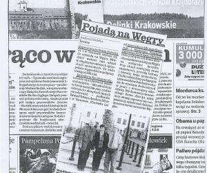 L e n g y e l o r s z á g: Gazeta Krakowska 2009. július 20.
