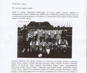 H o r v á t o r s z á g, Caritas c újság 2010.