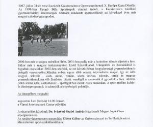 www.kecskemet.hu: Gyermekotthonok találkozója Kecskeméten 2007. júl. 27.