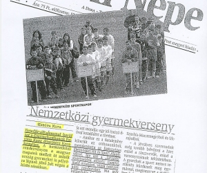 Petőfi Népe: Európa Kupa: Nemzetközi gyermekverseny 2005.