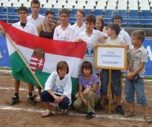 2010 ( HUN ) Magyarország, Kecskemét SOS Gyf sportolói