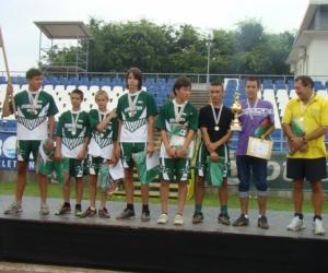 2010 labdarúgásban 2-helyezett Magyarország,Bicske.