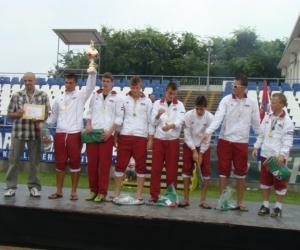 2010 labdarúgásban 1-helyezett SzerbiaNovi Sad SOS Gyf.csapata