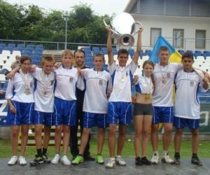 2010 összesített pontszám alapján az Európa Kupa győztese Ukrajna.