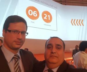 Gulyás Gergely, miniszterelnökséget vezető miniszter és Radics Kálmán elnök