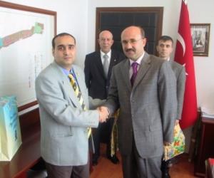 Ahmet Aygün - Tekirdag polgármesterével (2007)