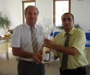 Dr. Iványosi-Szabó András - Kecskemét Megyeijogú Város alpolgármesterével (2010)