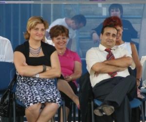 Dr. Simóka Beáta - Sport Szakállamtitkárral (2009)<br> Öttusa Európa- és Világbajnaok
