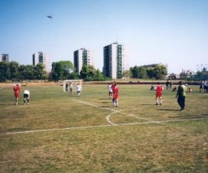Faragó Béla Sportnapok ( labdarúgó mérkőzés ) 1999.