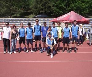 A győztes Velence Gyermekotthon csapata.