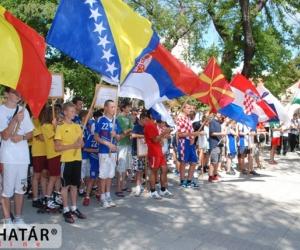 nyitóünnepség Kecskemét Történeti Főterén 2012.