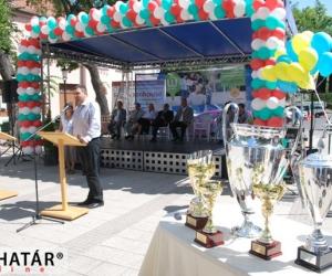Köszöntőt mond Mák Kornél Kecskemét alpolgármestere.