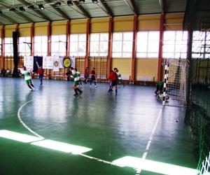 UEFA-MLSZ grassroots labdarúgó mérkőzés Encsen.