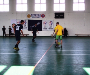 UEFA-MLSZ grassroots labdarúgó mérkőzés Komádiban.