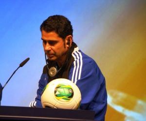 Az egyikleghíresebb előadó Fernando Hierro volt spanyol válogatott futballista volt.
