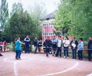Súlylőkés közben 2001.