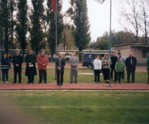 Dr. Fenyvesi Máté ( FIDESZ -Országgyűlési képv.) 76-szoros vállogatott labdarúgó volt a díszvendégünk 2002-ben.