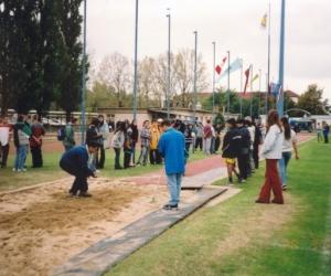 Távolugrás az V. Európa Kupa Döntő. 2002-ben.