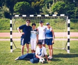 Gyermekotthonok V. Európa Kupa Döntő szegedi csapata 2002.