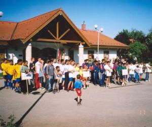SOS Gyermekfaluban a regionális döntő 2003-ban