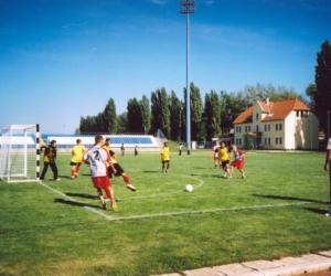 Velenc - Miskolc labdarúgó mérkőzés 2004.