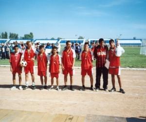 A III. helyezett Hajdúnánás csapata lett 2004-ben.