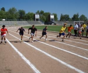 100m-es síkfutás a Gyermekotthonok X. Európa Kupa Döntőjében 2007.