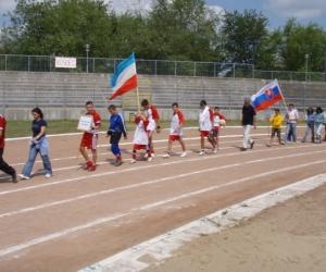 Záróünnepség a Gyermekotthonok X.Európa Kupája Döntőjén2007-ben.