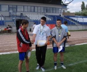 Díjátadás a Gyermekotthonok Európa Kupa Döntőjén 2007-ben.