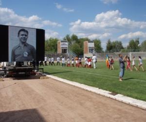 A nemtzetközi tornánkon tisztelegtünk Puskás Ferenc labdarúgó múltja előtt, melyett a Nmezetközi Labdarúgó Szövetség ( FIFA ) is támogatott.