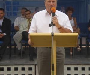 Köszöntőt mond: Dr. Iványosi-Szabó András Kecskemét MJV alpolgármestere 2008-ban.