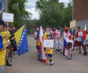 Készülődés a nyítóünnepségre 2008